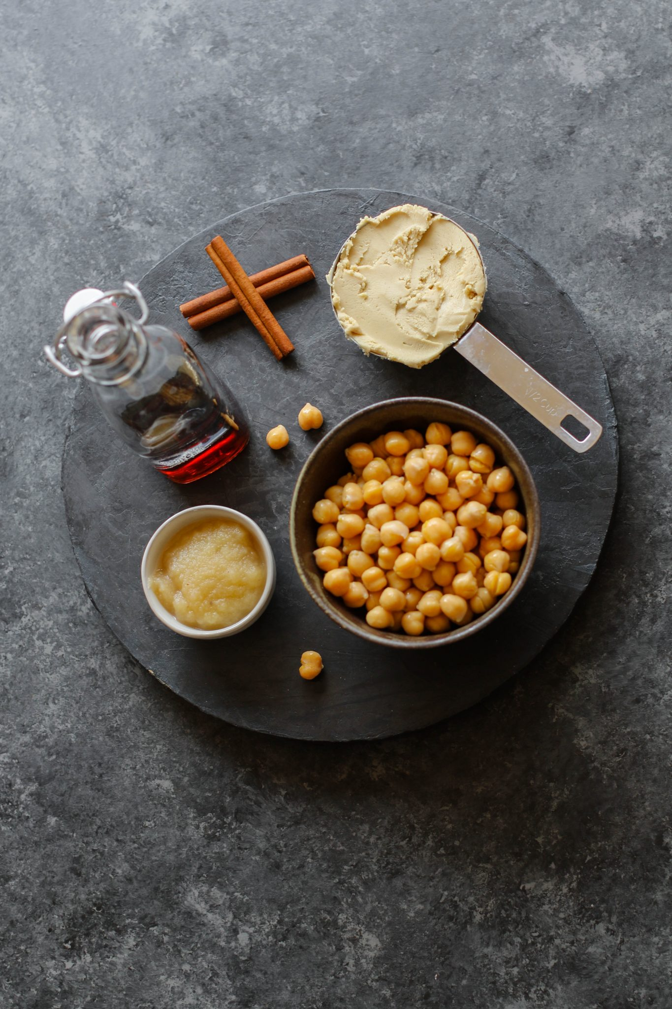 Cashew Butter Chickpea Snack Cookie Ingredients