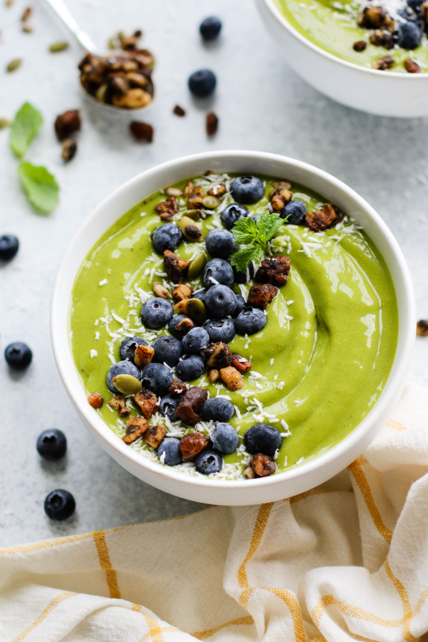 Green Galaxy Smoothie Bowl by Flora & Vino