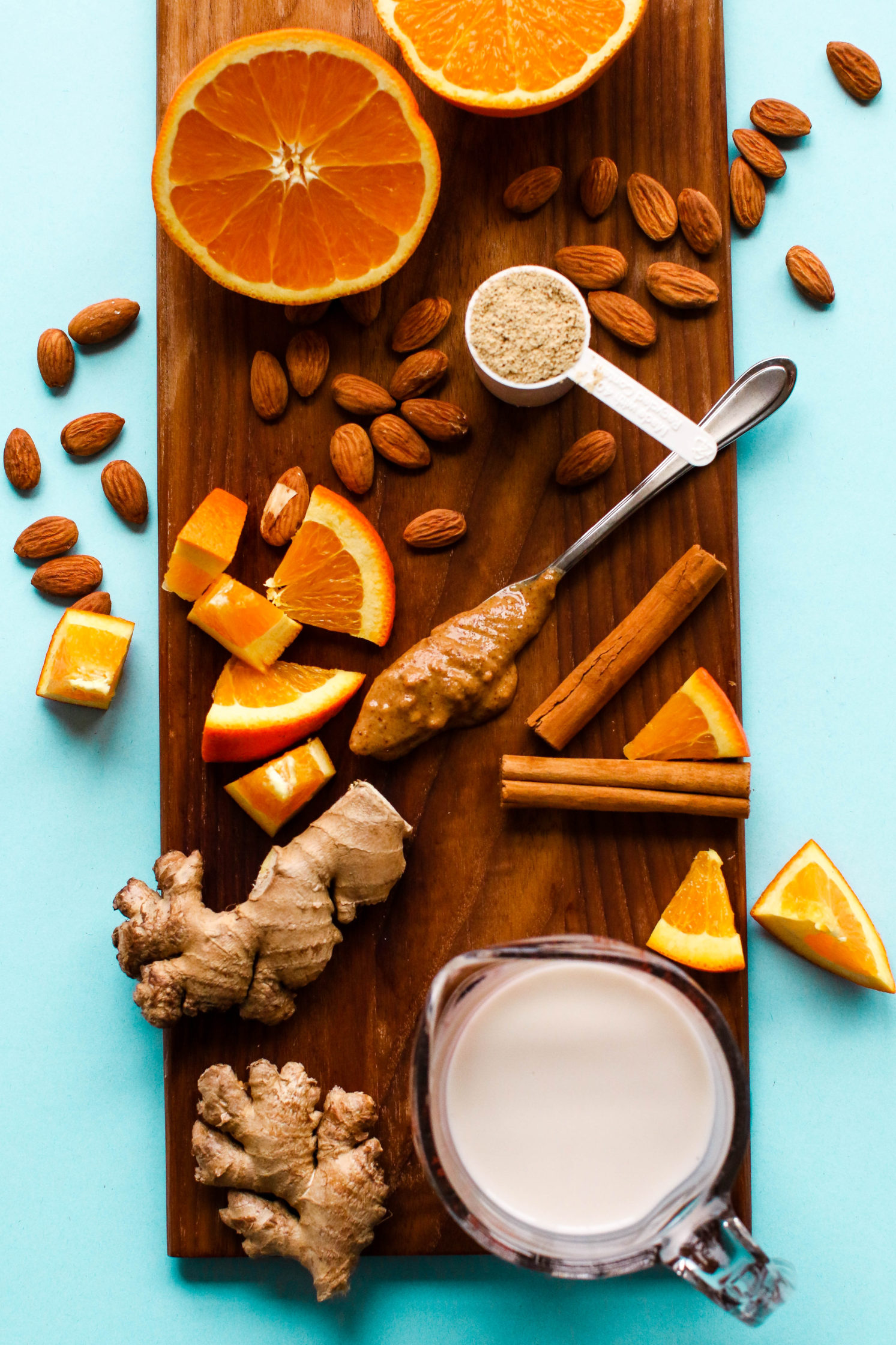 Spiced Orange Almond Protein Shakes