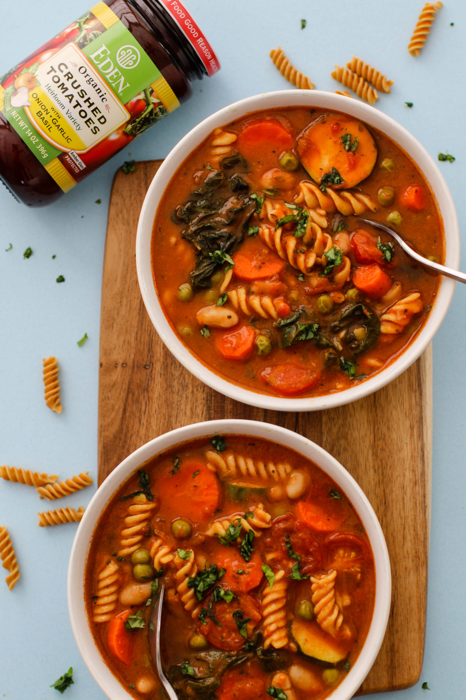 1-Pot Vegetable Minestrone