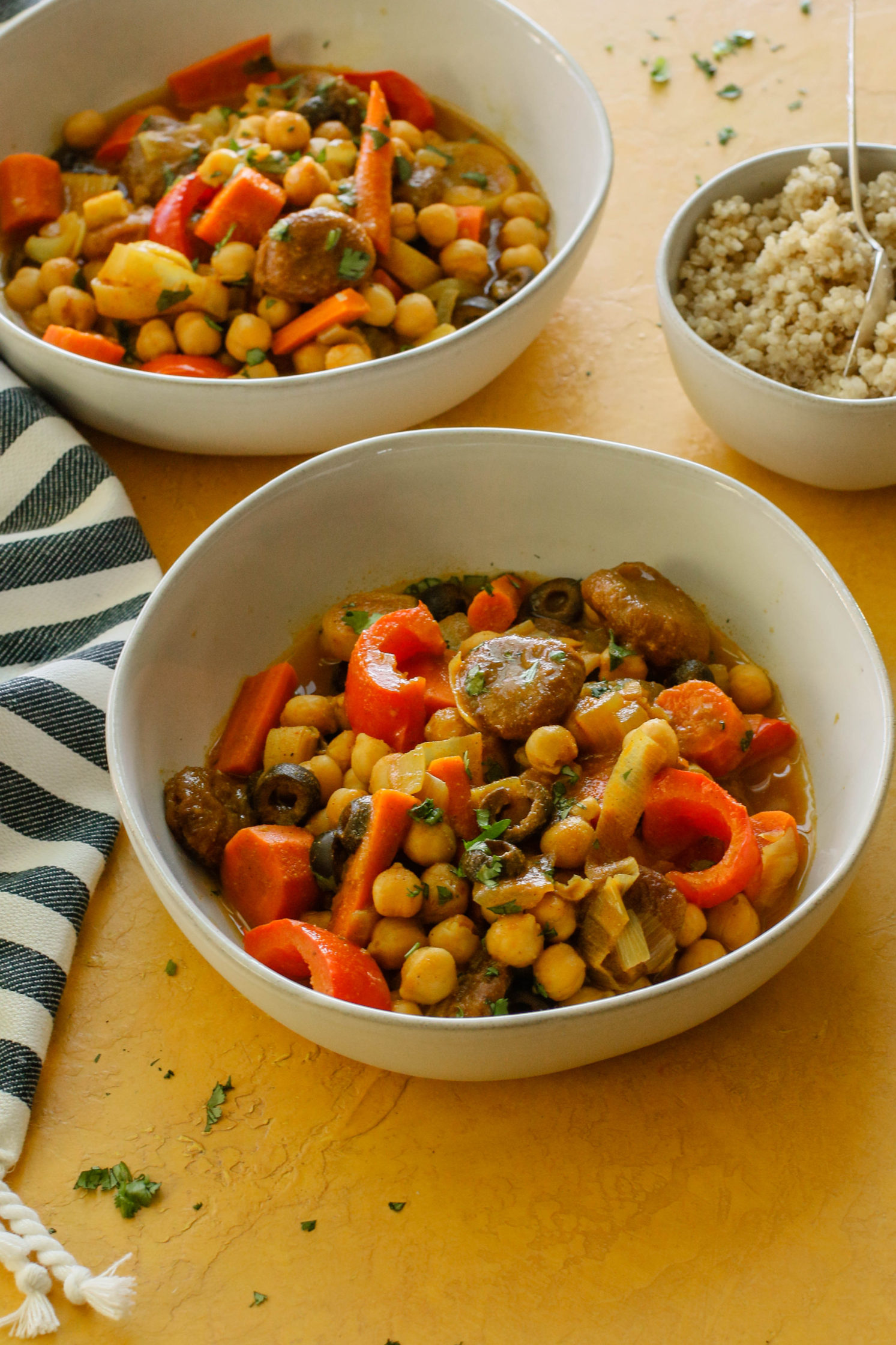Curried Chickpea Apricot Stew