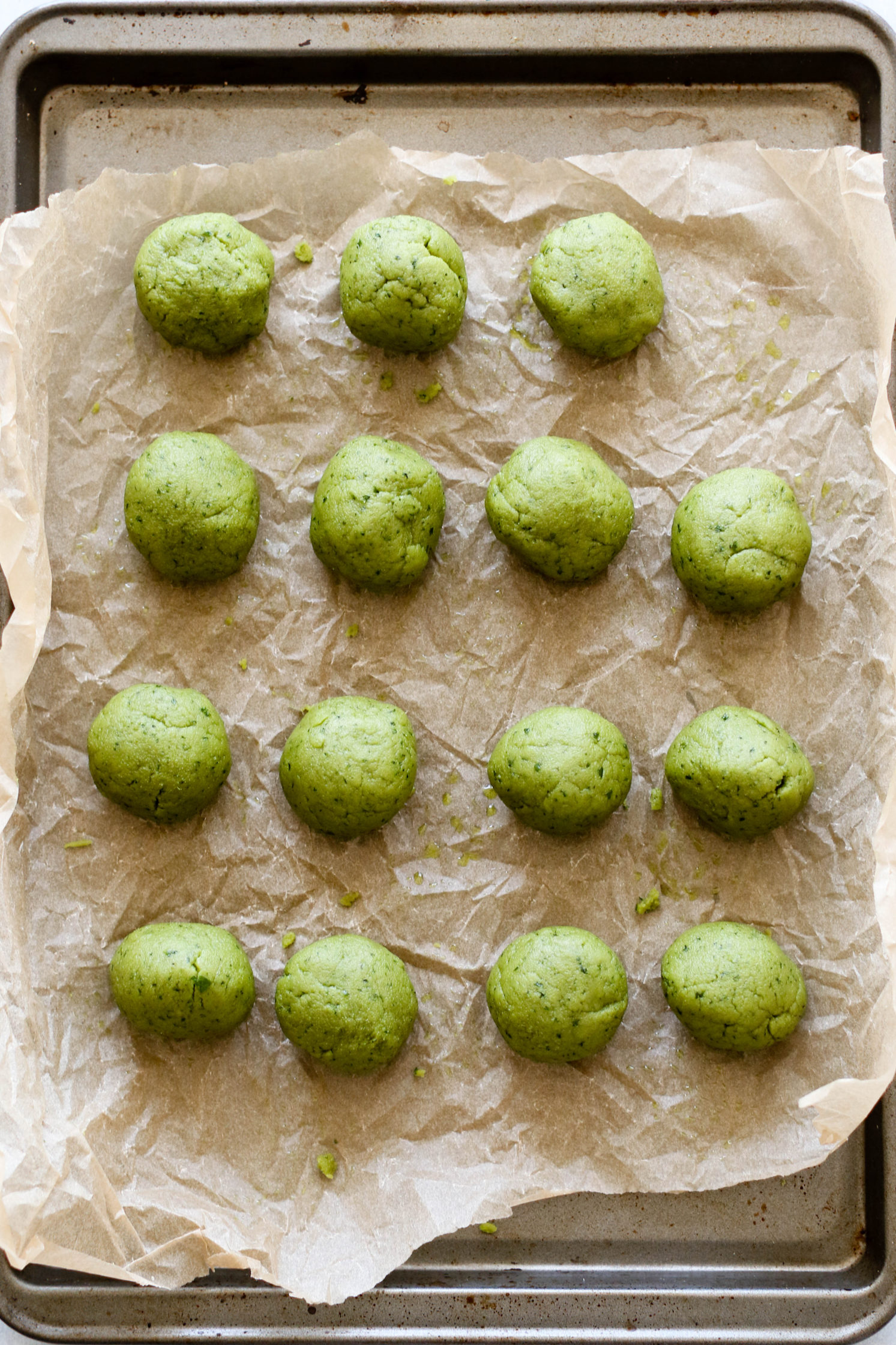 Super Green Fat Balls by Flora & Vino