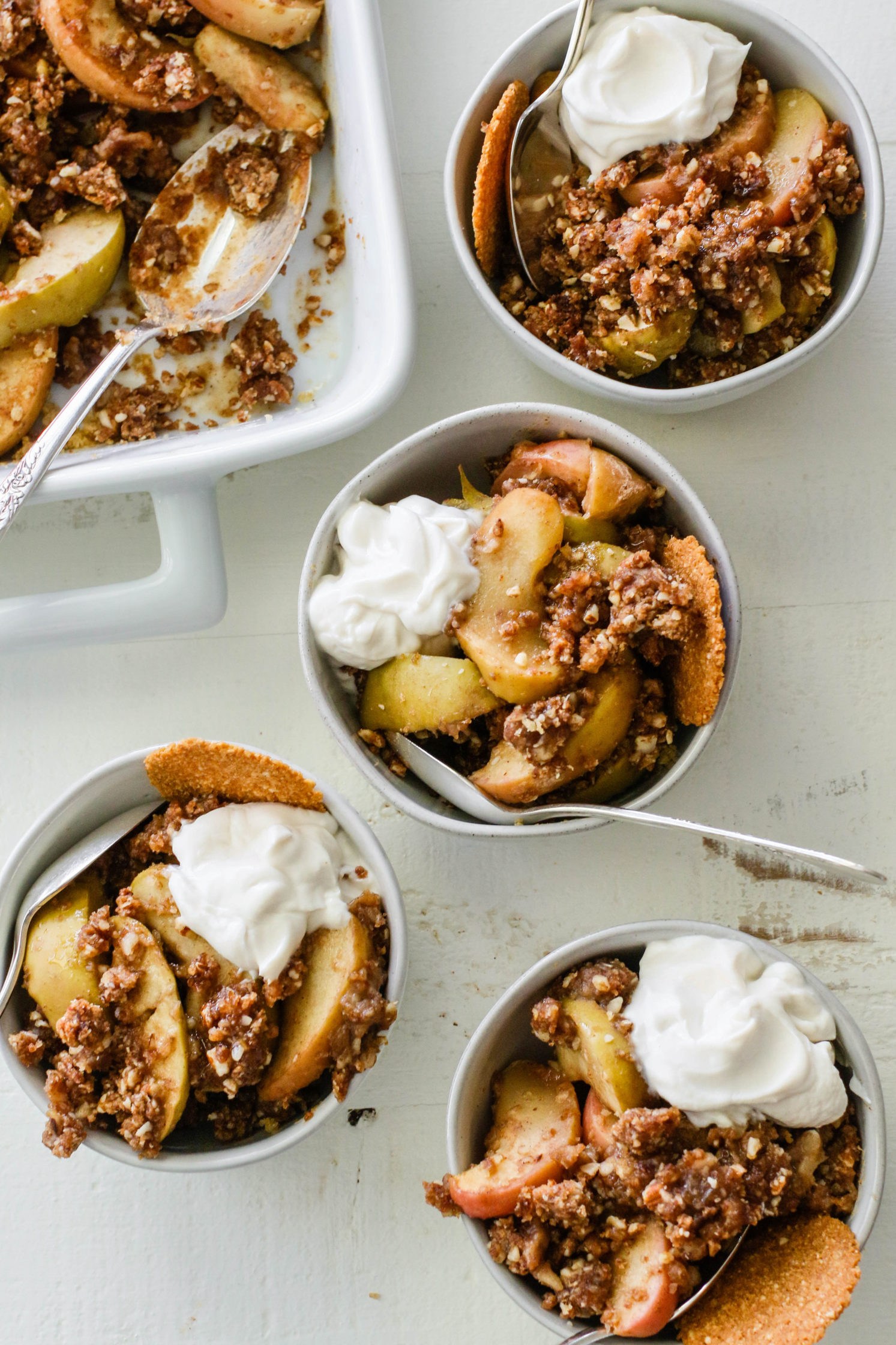 Baked Breakfast Apple Crisp (Gluten-Free!) by Flora & Vino