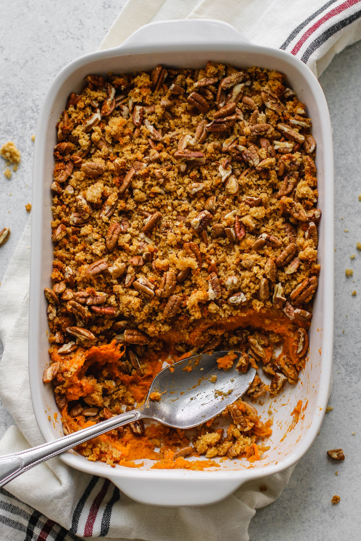 Vegan & Grain Free Sweet Potato Casserole