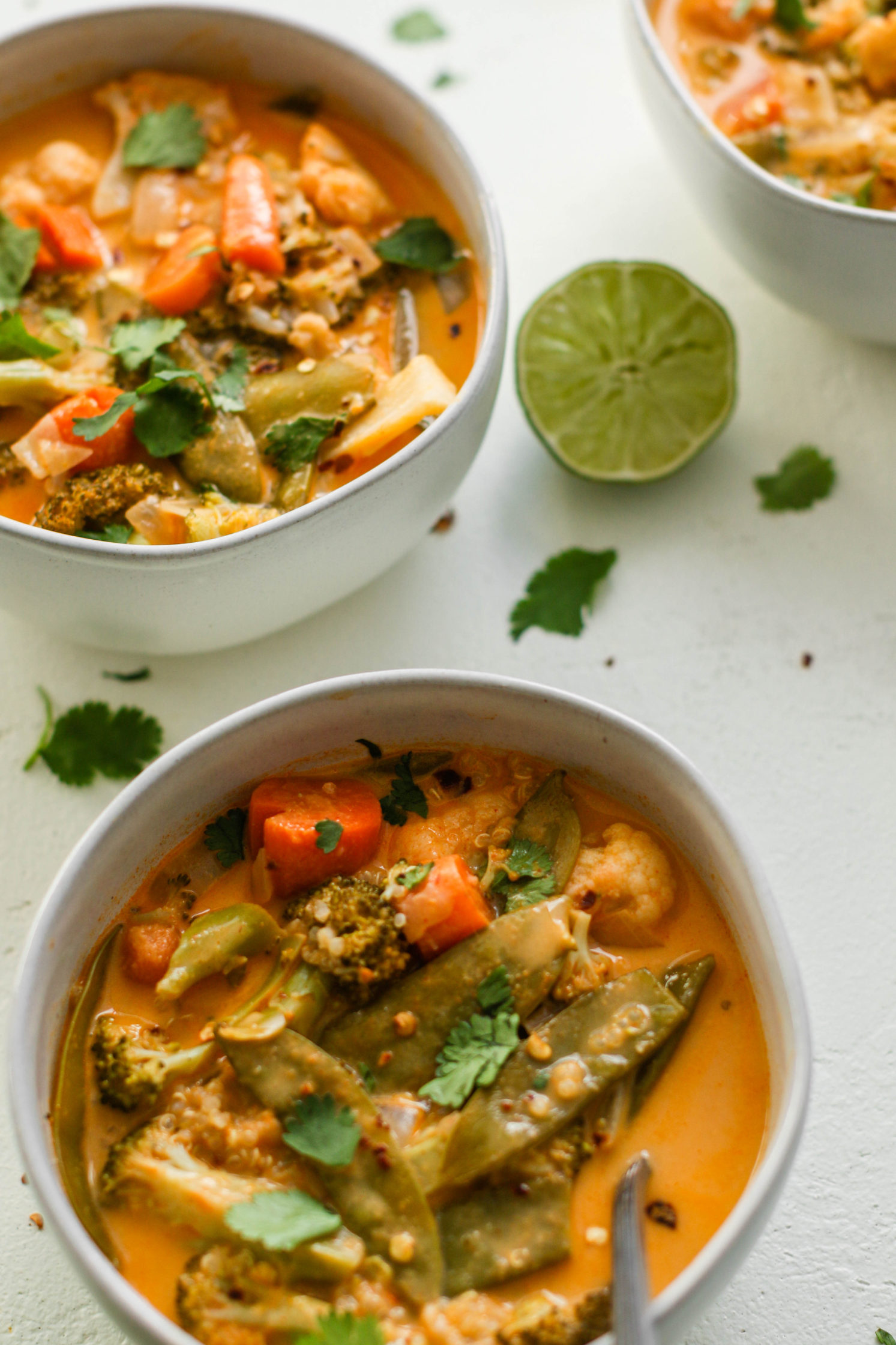 The Quickest Vegan Curry by Flora & Vino