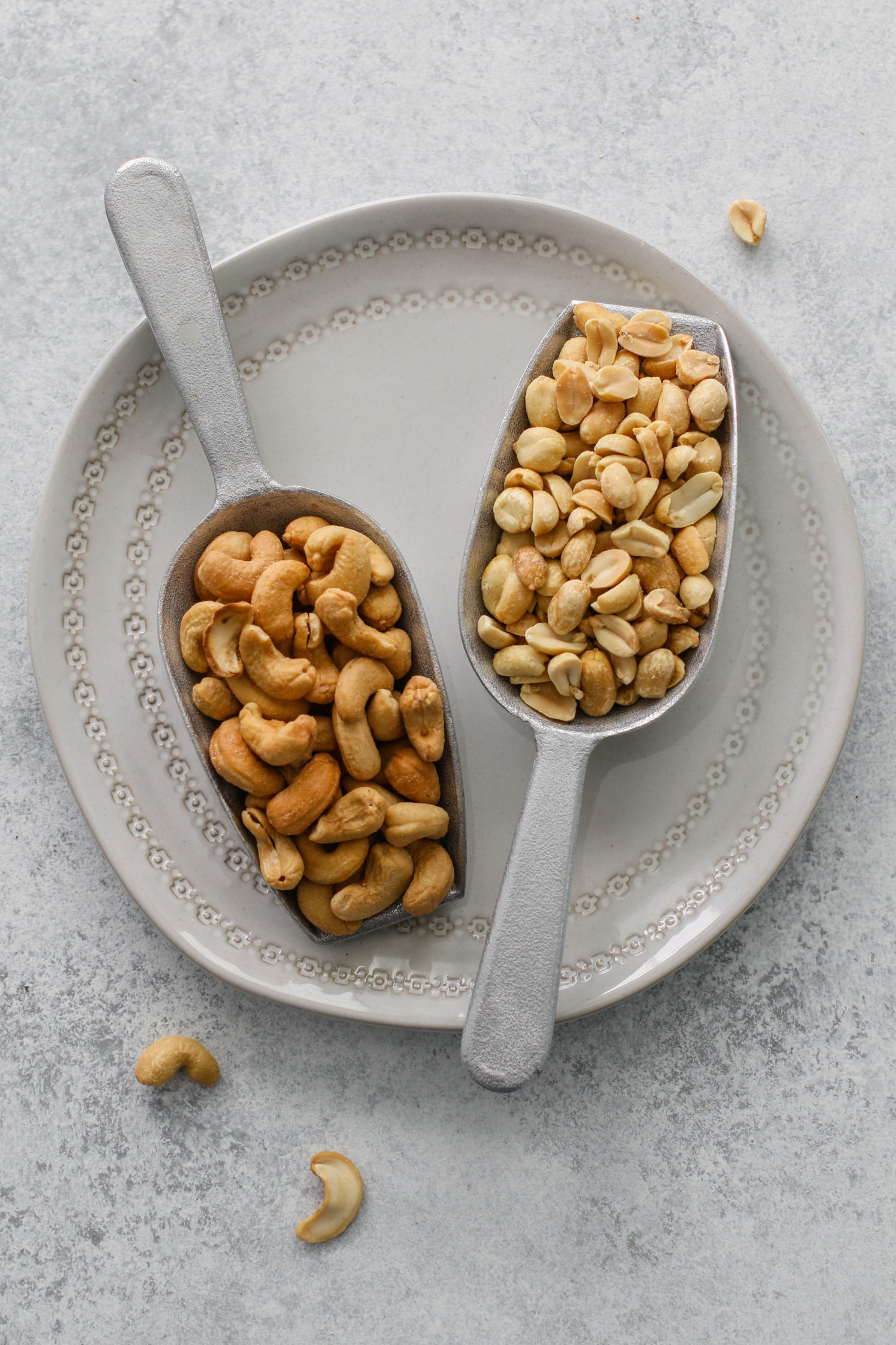 2-Ingredient Roasted Peanut-Cashew Butter & Banana Chips by Flora & Vino