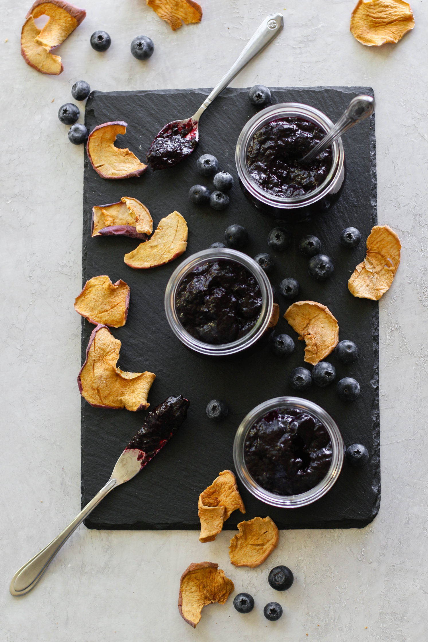 Blueberry Butter (No-Sugar-Added) by Flora & Vino