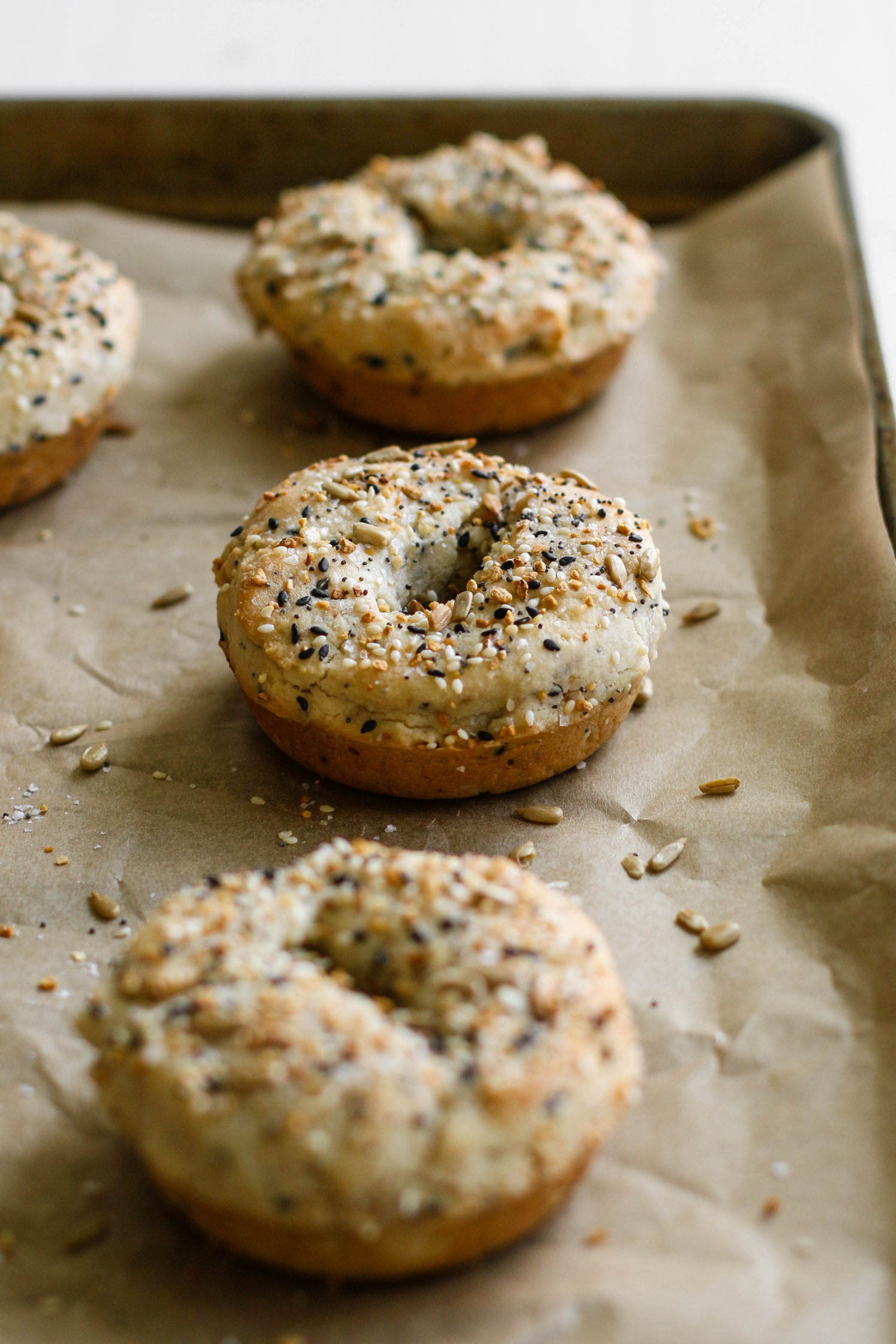 Grain-Free Everything Bagels by Flora & Vino