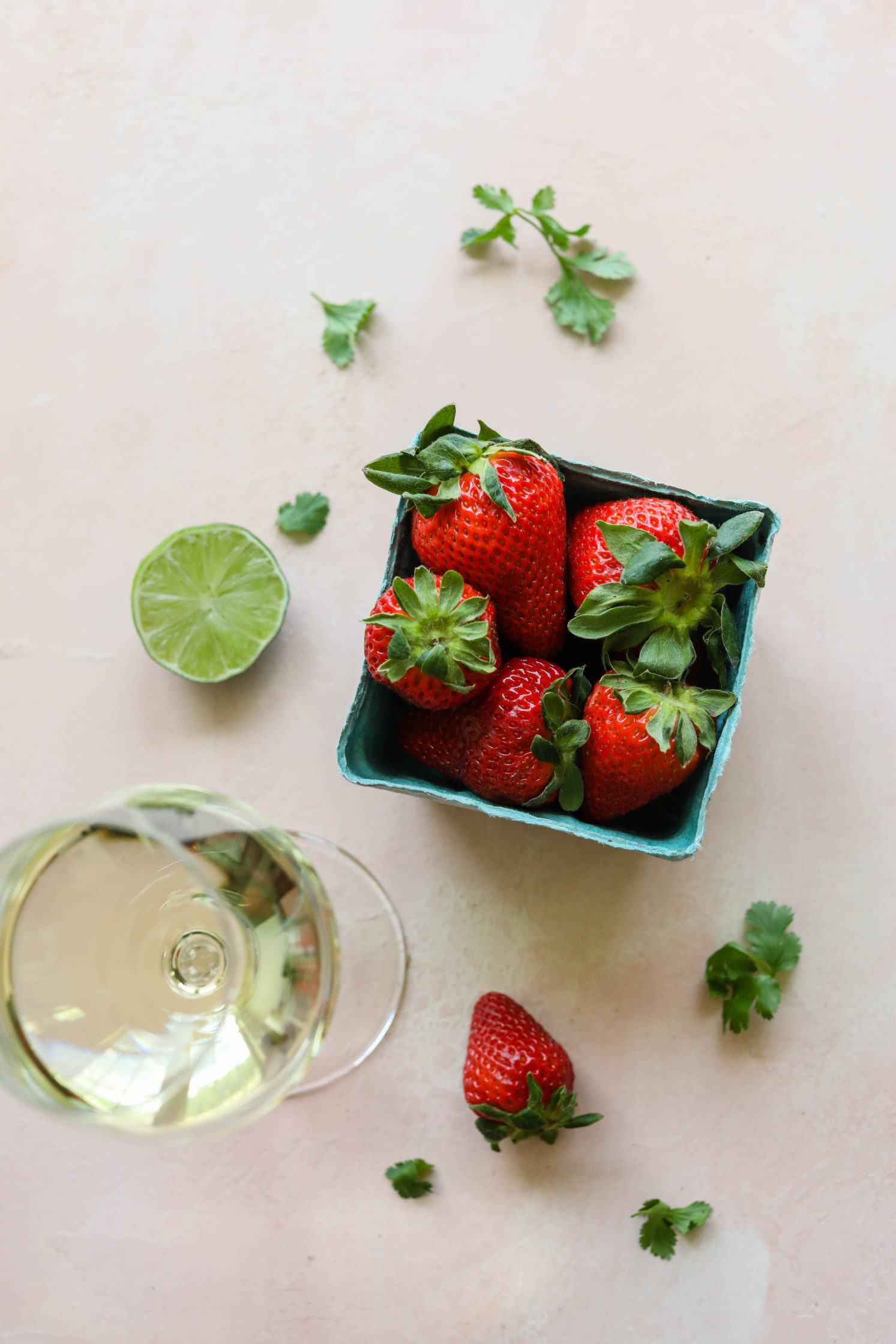 Sweet & Savory Avocado Boats with Strawberry Salsa by Flora & Vino