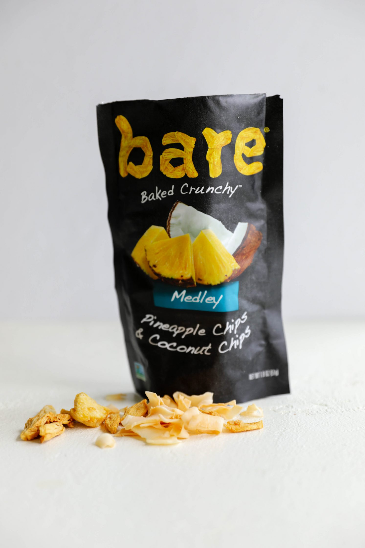 Bare Snacks Pineapple Chips & Coconut Chips