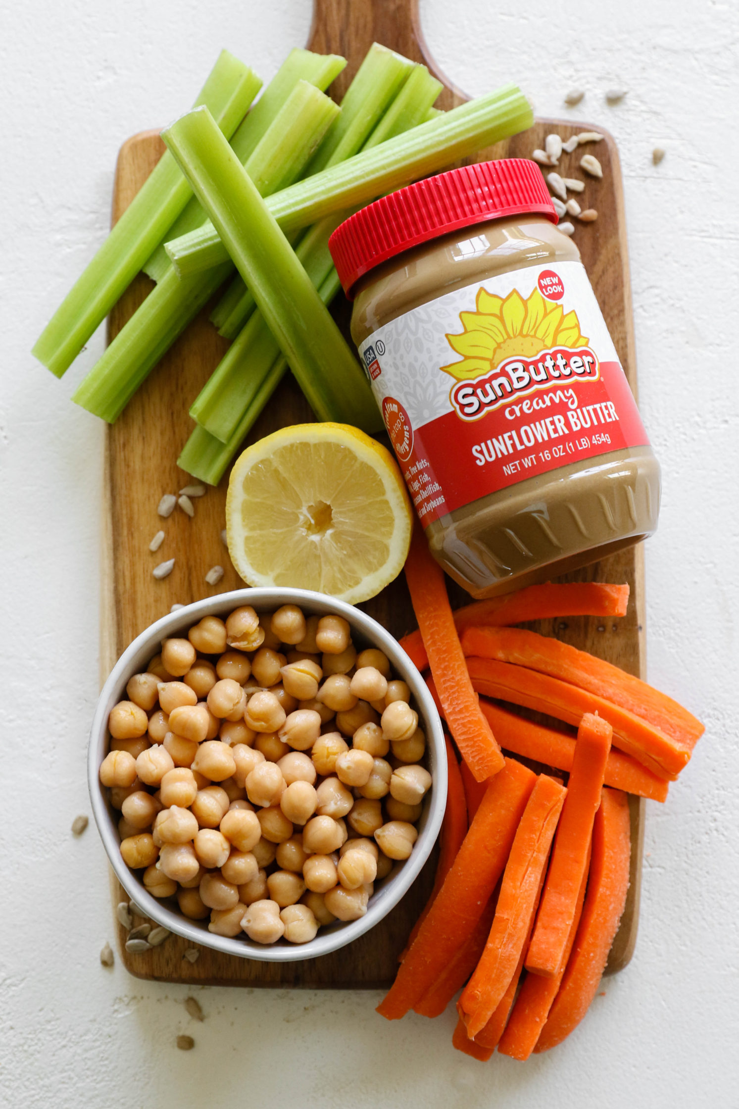 SunButter hummus ingredients
