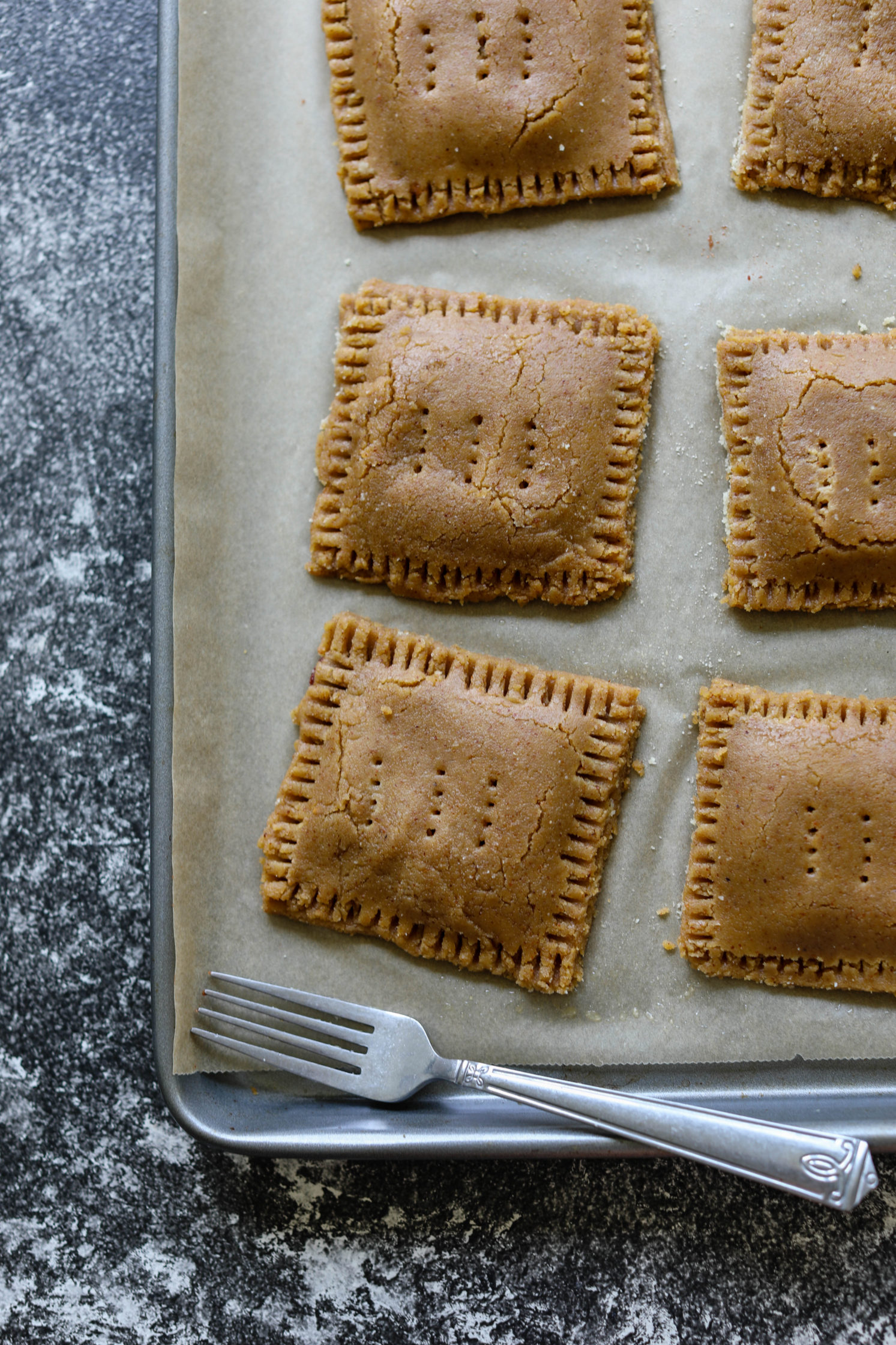 Cherry Almond Flour Pop-Tarts raw