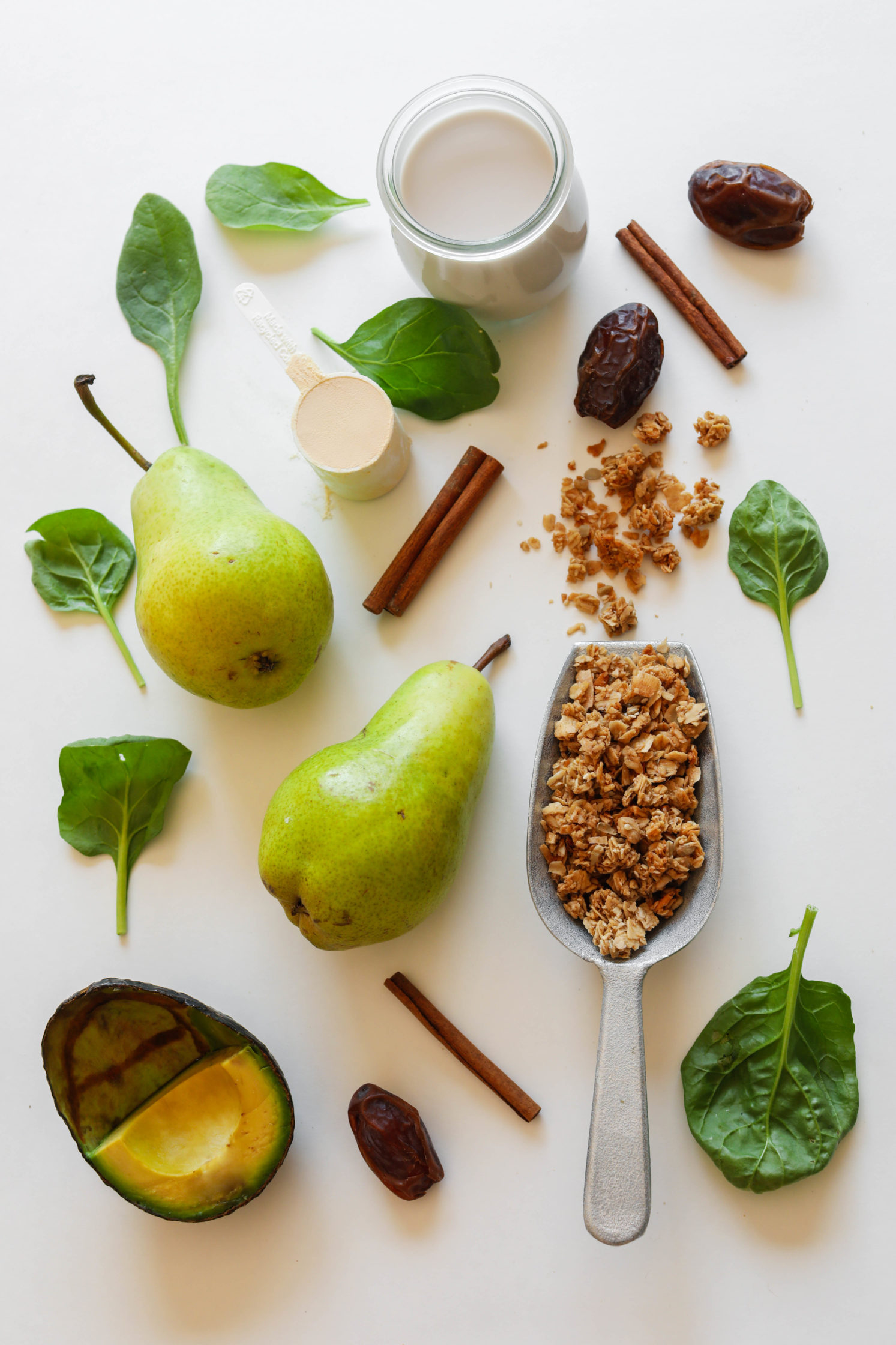 Spiced Green Pear Protein Shake Ingredients