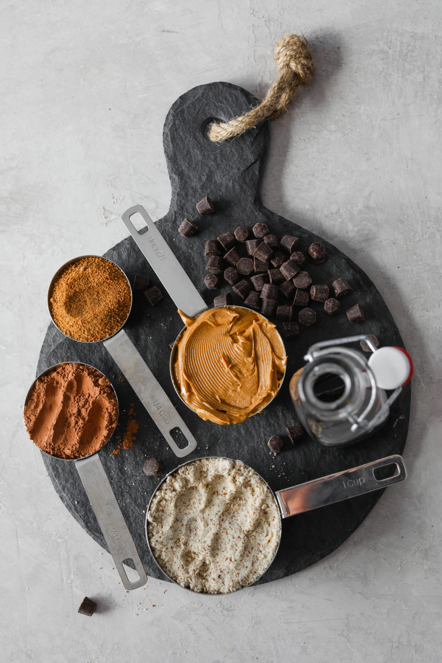 Cashew Butter Buckeye Brownie Ingredients