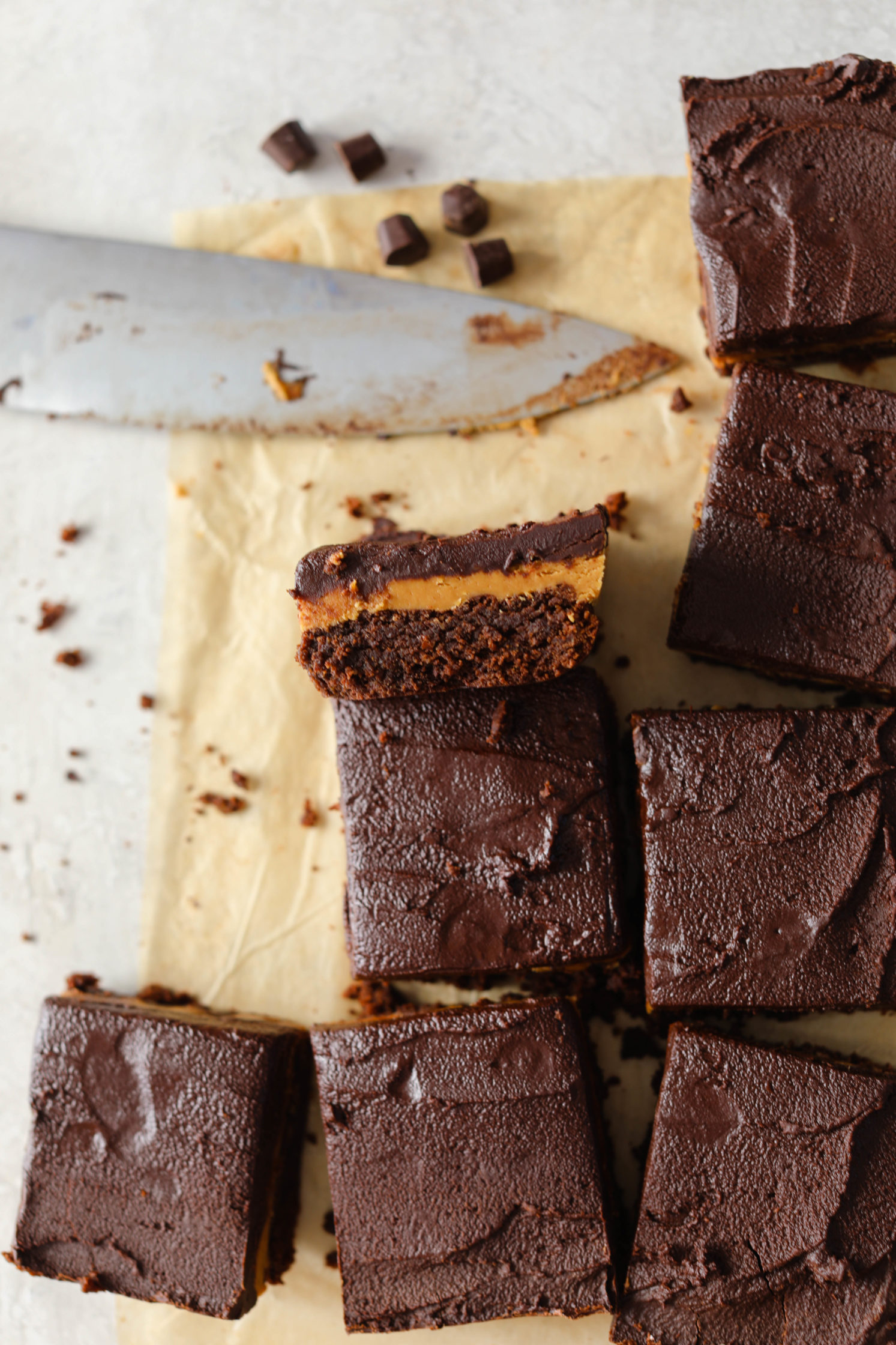 Cashew Butter Buckeye Brownies By Flora & Vino