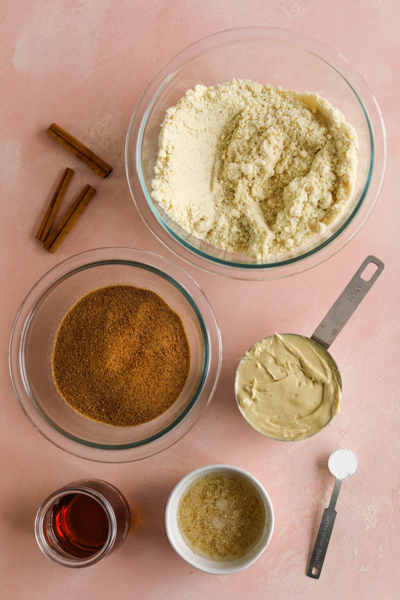 Almond Flour Cashew Butter Snickerdoodle ingredients