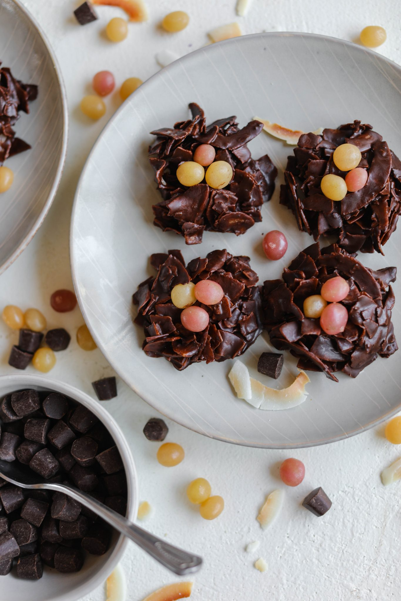 Toasted Coconut Bird's Nests by Flora & Vino