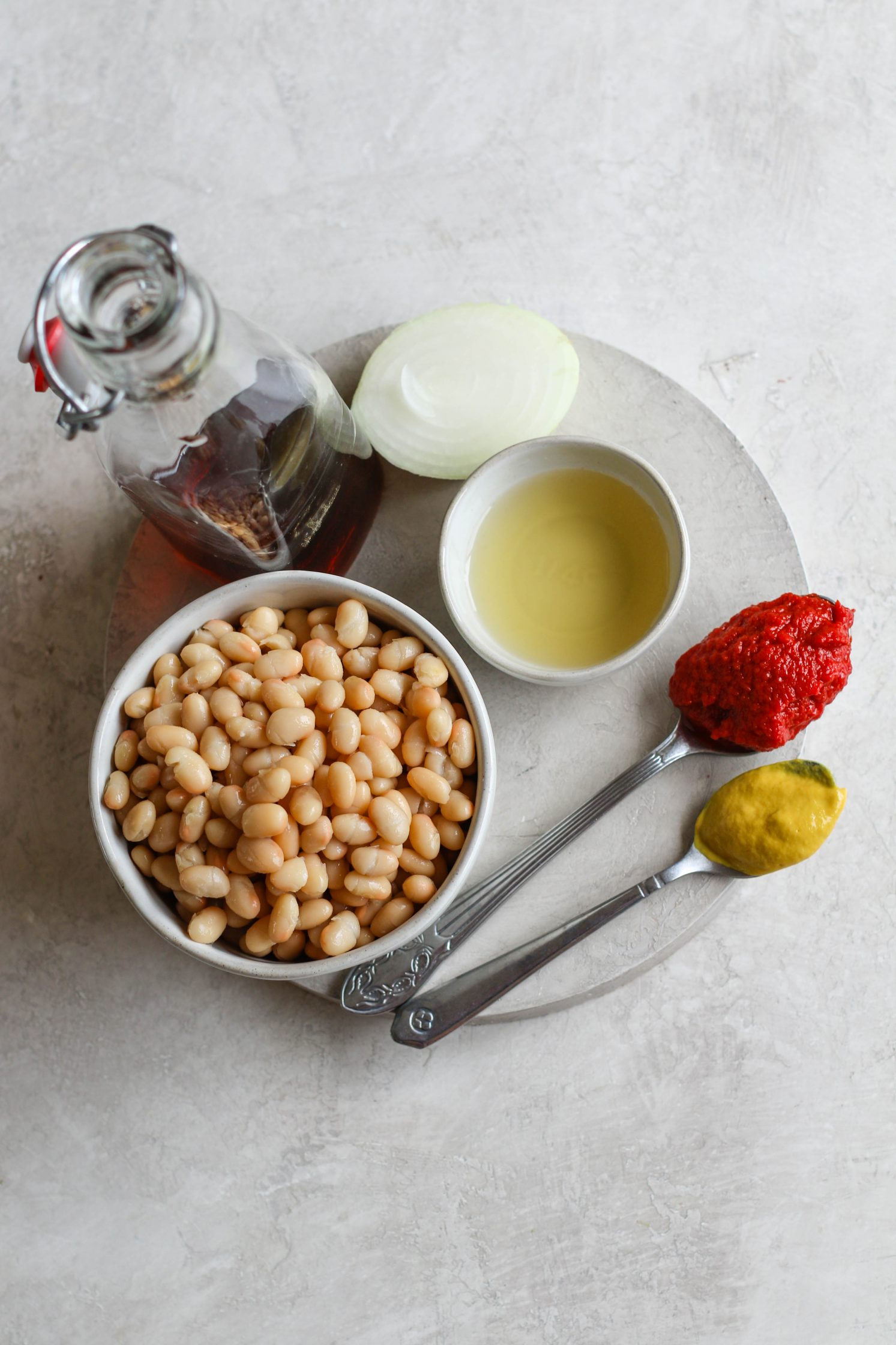 Vegan Maple Baked Beans Ingredients