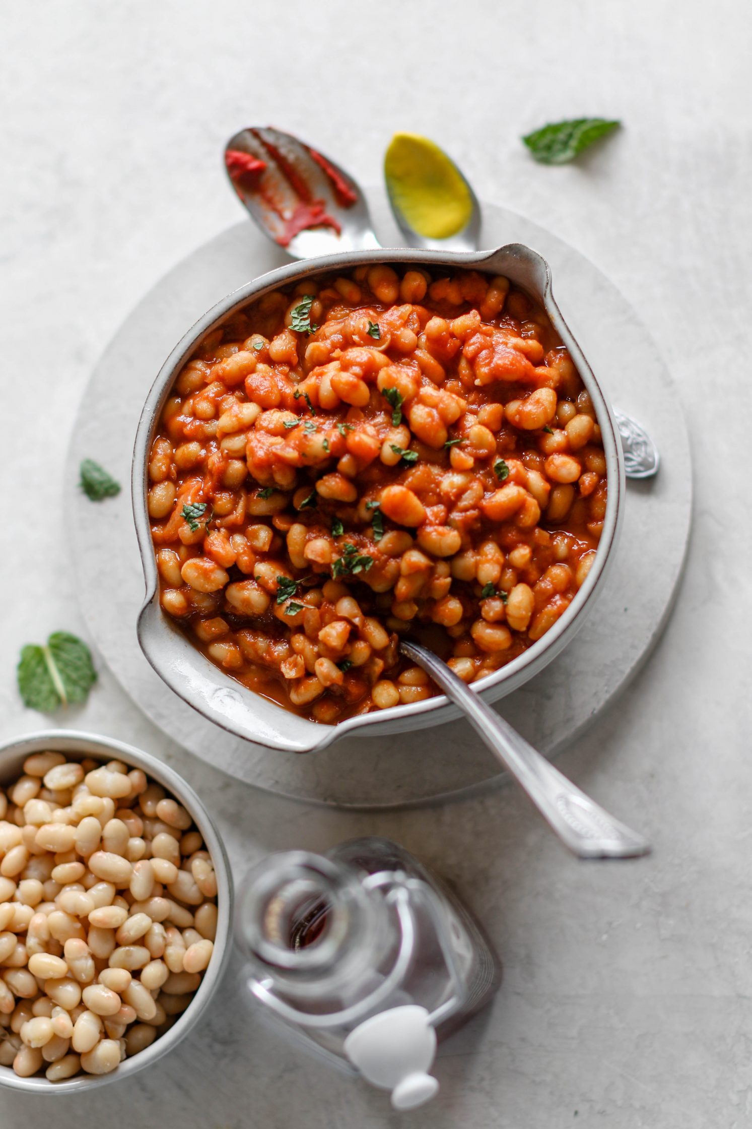Vegan Maple Baked Beans by Flora & Vino
