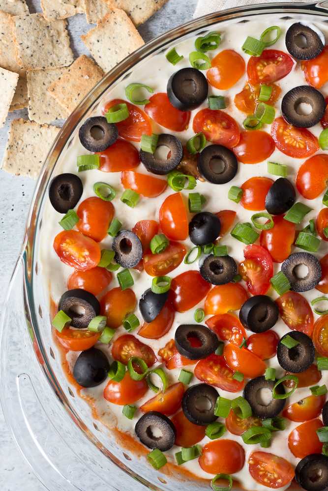 7-Layer Mexican Dip by Flora & Vino