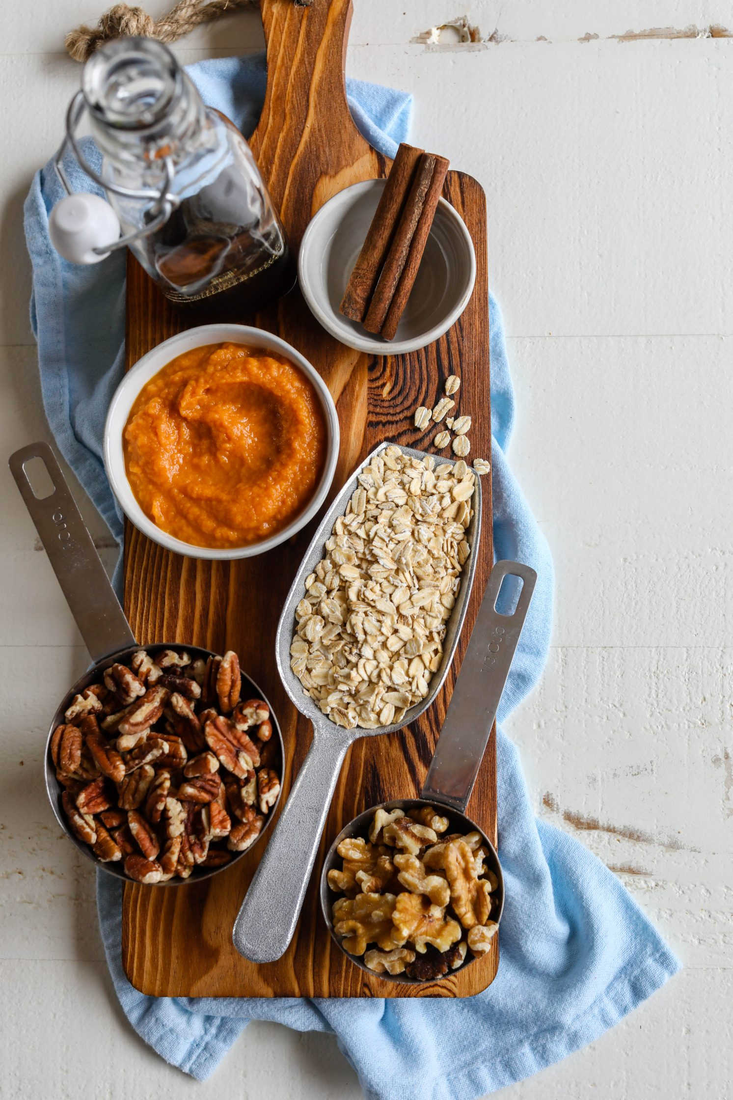 Sweet Potato Spice Granola by Flora & Vino