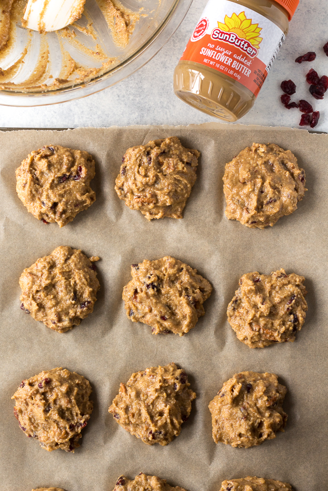 Grain-Free Sweet Potato Breakfast Cookies prep shot