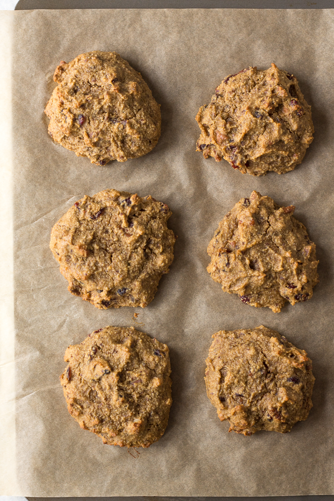 Grain-Free Sweet Potato Breakfast Cookies by Flora & Vino