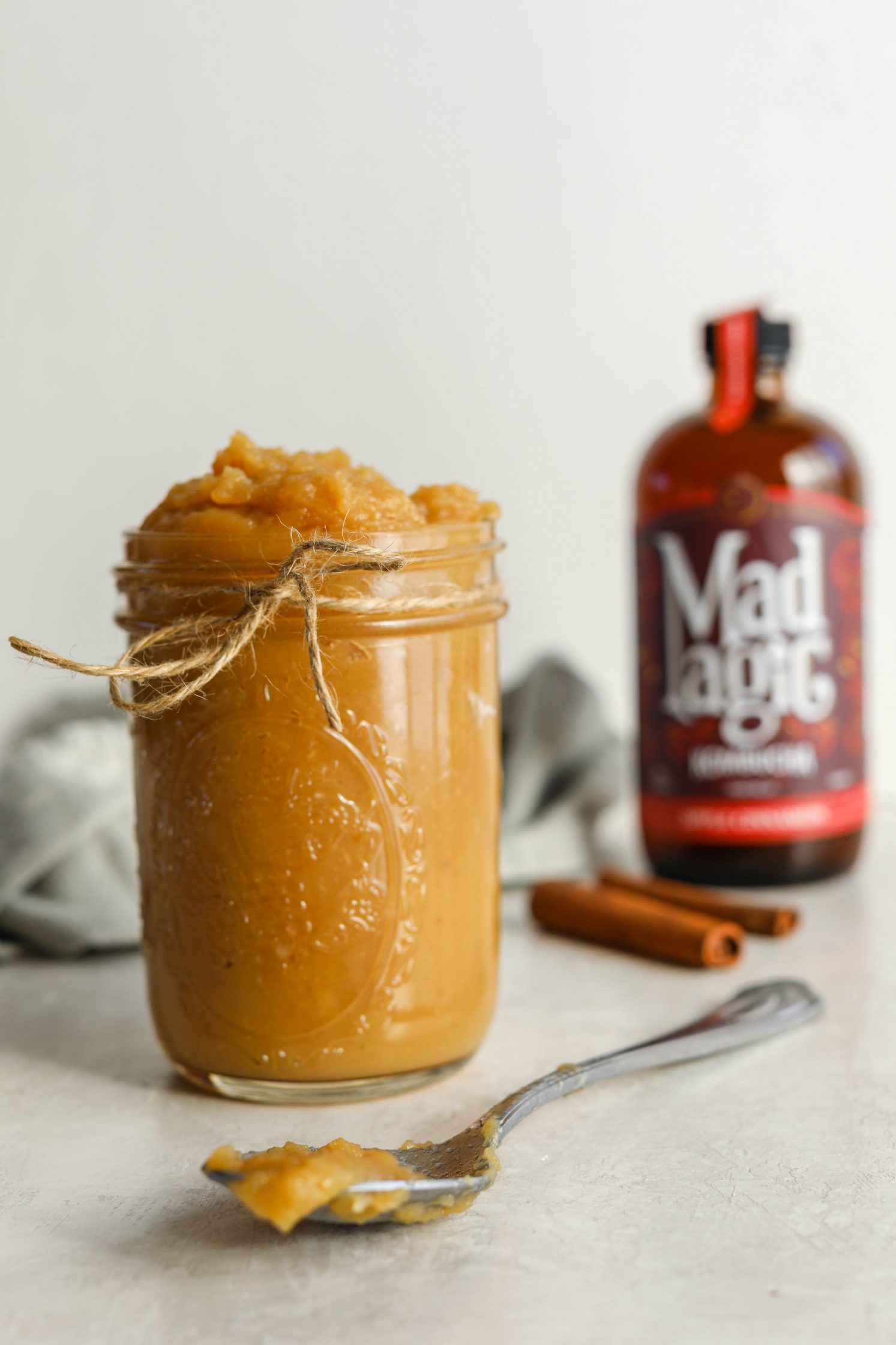 Low Sugar Applesauce Apple Butter by Flora & Vino