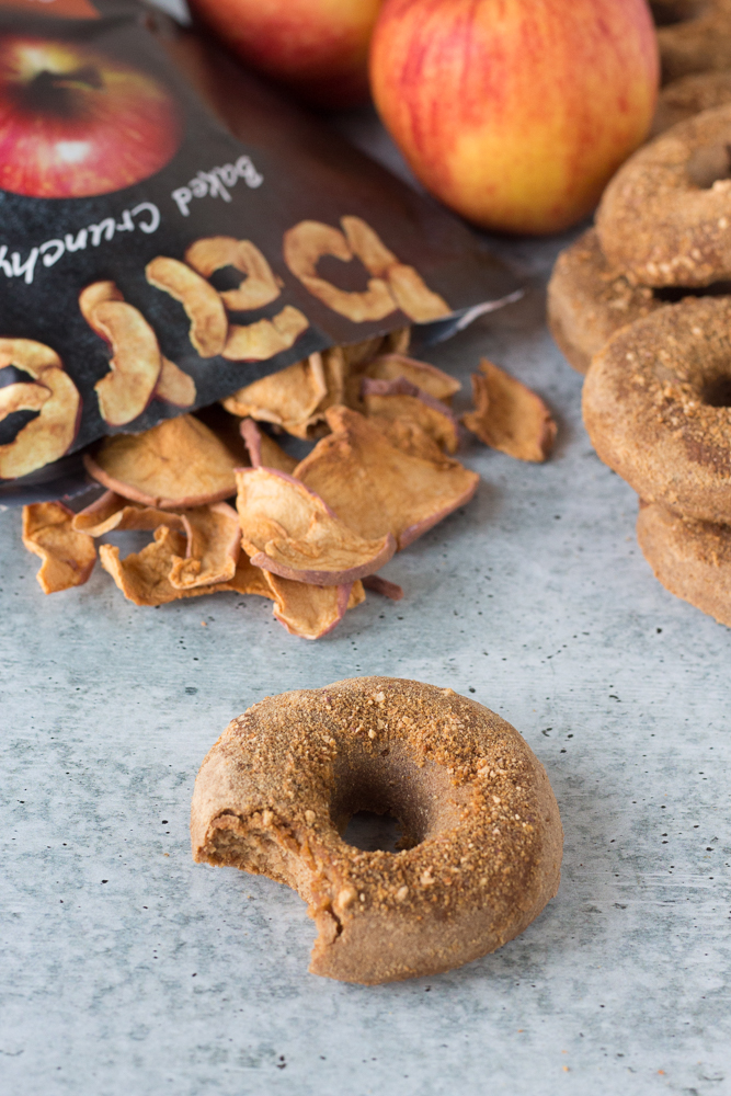 Vegan Apple Cider Donuts by Flora & Vino