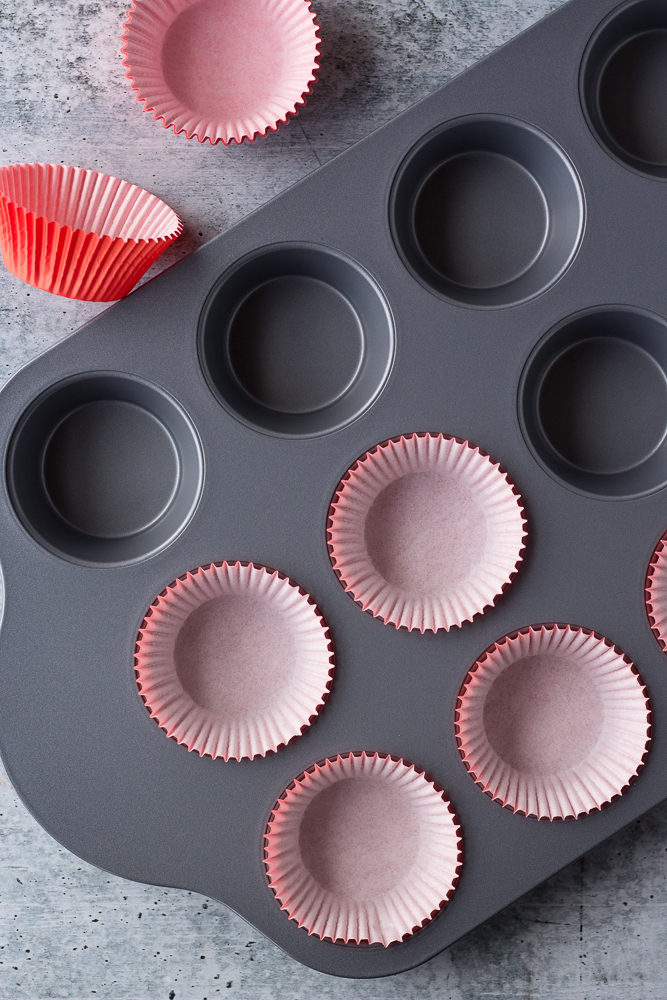 Easy Almond Butter Cups prep shot by Flora & Vino