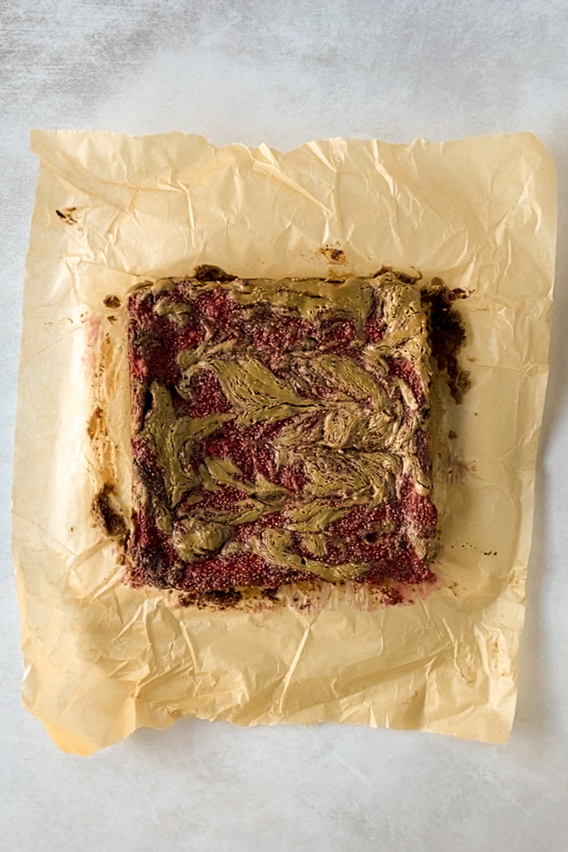 SunButter & Jelly Brownies by Flora & Vino